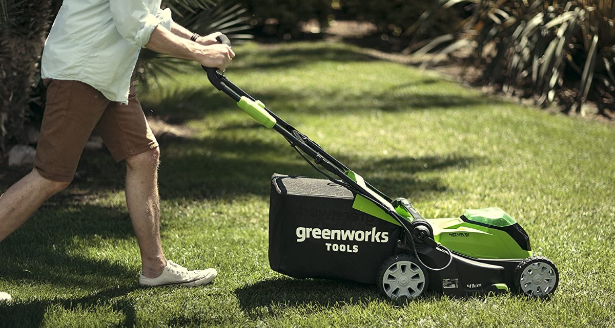 GreenWorks G40LM Electric Mower Review