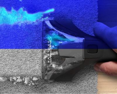 Cleaning Brush on Carpet