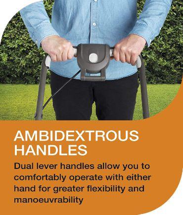 Comfortable handles