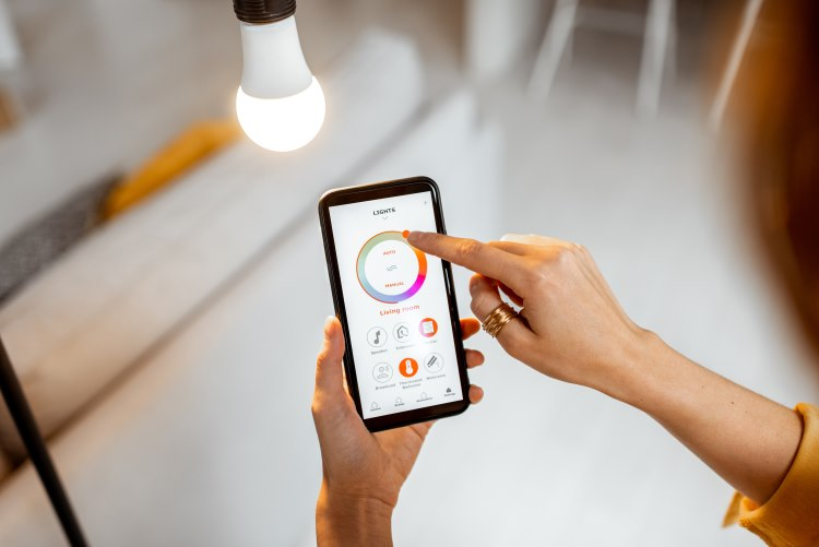 Smart controller on phone