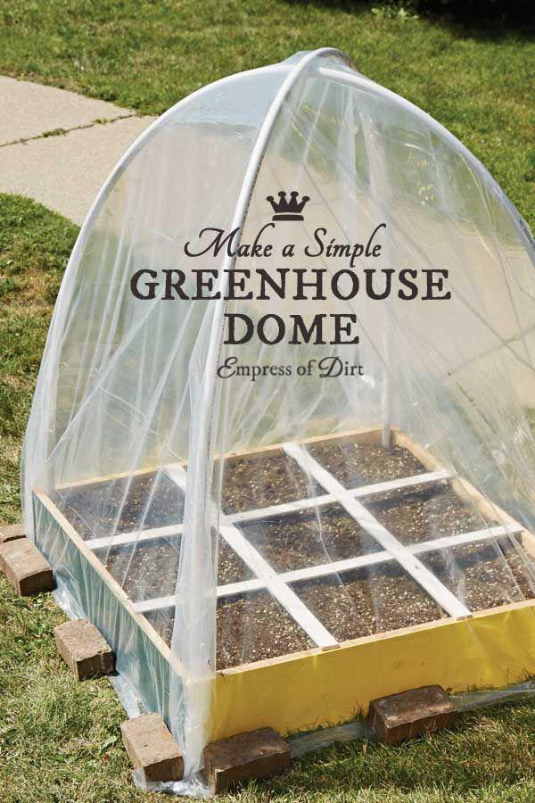 Mini Green House Crossover Dome