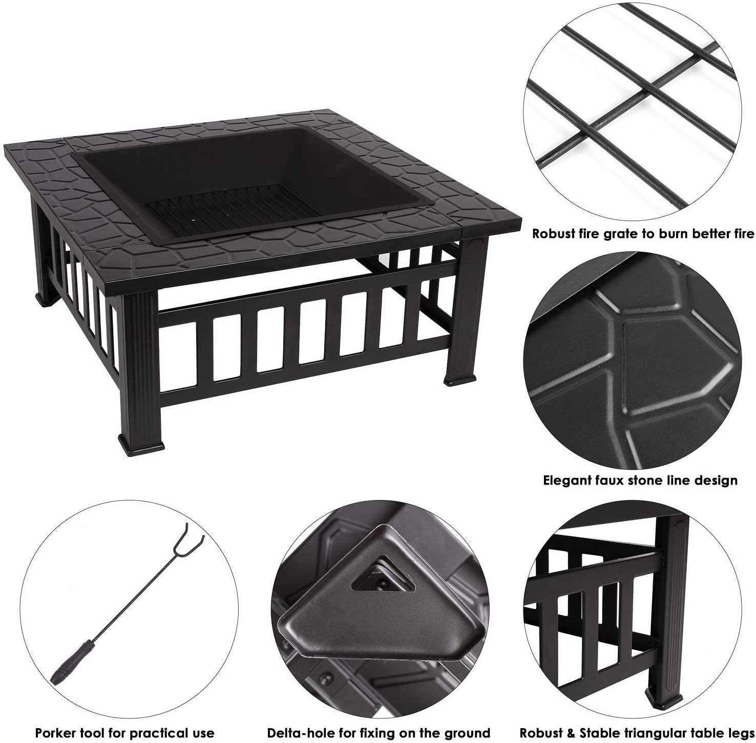Femor [Upgraded] Large 3 in 1 Fire Pit Review