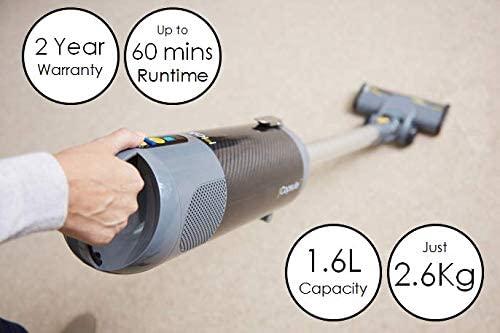 Lightweight Halo Capsule vacuum