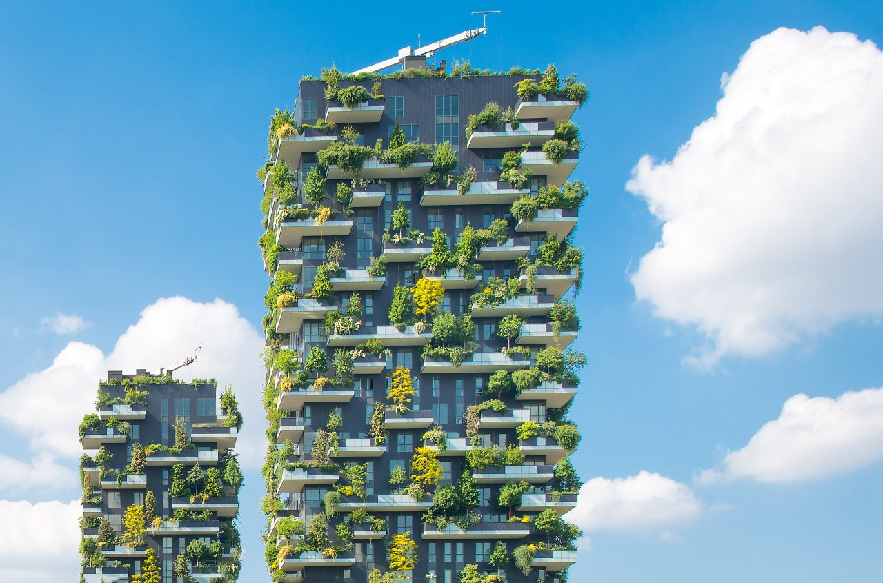 Vertical Garden Building Design