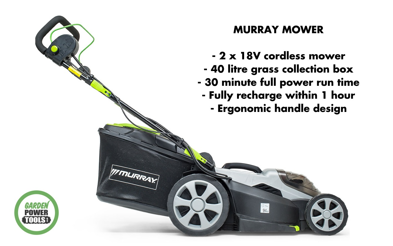 Murray Cordless Mower key features