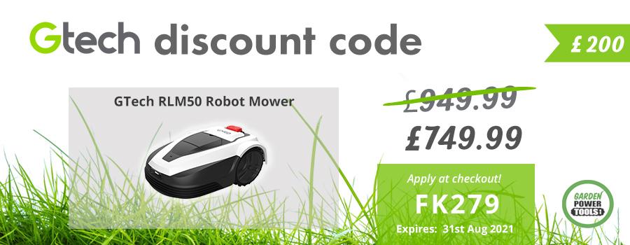 GTech Robot Mower Discount Code